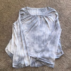 American Eagle Tie Dye Boho Soft and Sexy Top